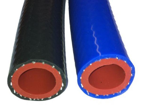 双层阻燃气管 硅胶编织管 阻燃管 阻燃气管 铁氟龙管